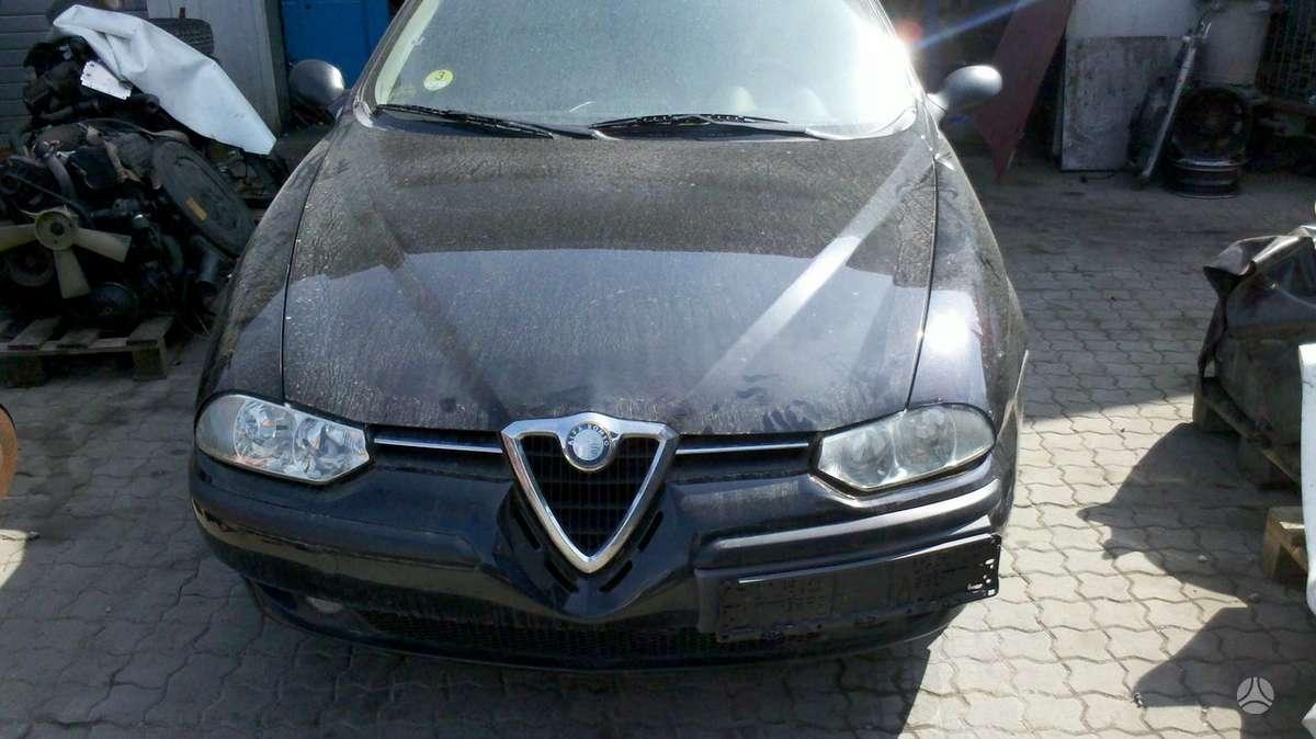 Alfa Romeo 156. Galimas detalių pristatymas į kitus miestus. eiš