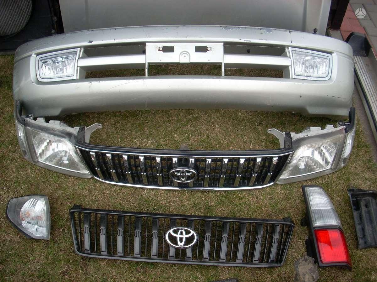 Toyota Land Cruiser. Toyota land cruiser  95 ....europa....