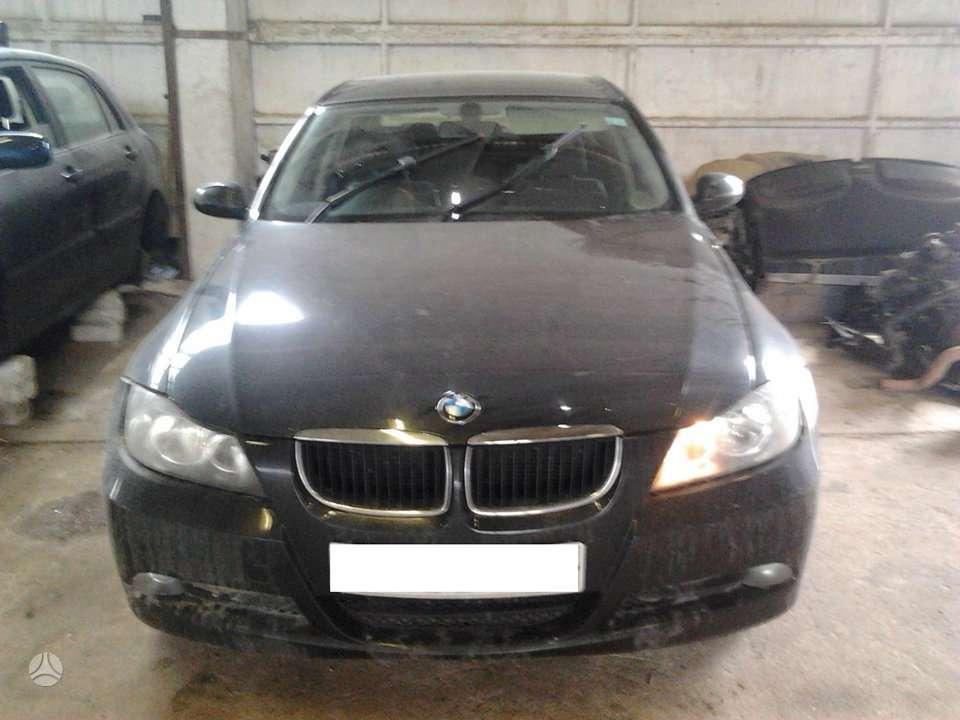 BMW 320 dalimis. Dalimis - bmw 320 2006 2.0l 1995cm3 120kw dyzel