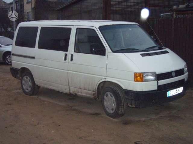 Volkswagen, CARAVELE, keleiviniai mikroautobusai