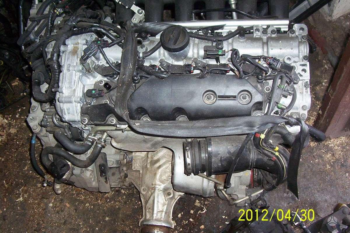 Volvo XC60. Variklis, apd