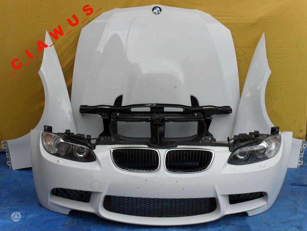 BMW M3. Komplektinis priekis bmw e90 m3,  tvarkingas,  yra