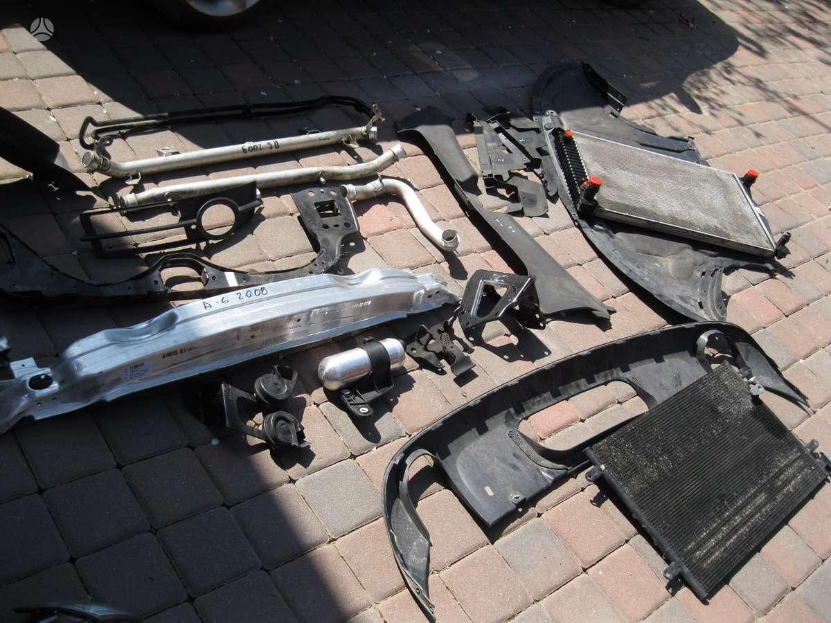 Audi A6. --- - parktronikai ---- turbina----- interk. vamzdziai -