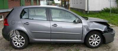 Volkswagen Golf dalimis. Turim ir sidabrines spalvos tik
