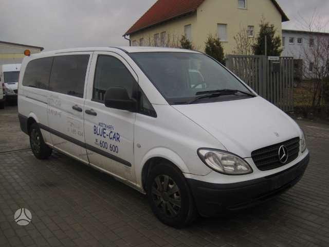 Mercedes-Benz Vito 4x4, krovininiai mikroautobusai