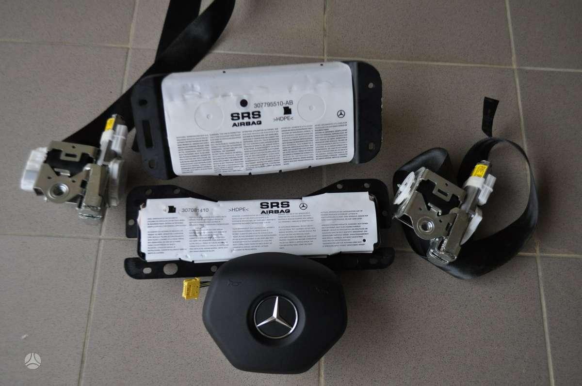Mercedes-Benz E klasė oro pagalvės