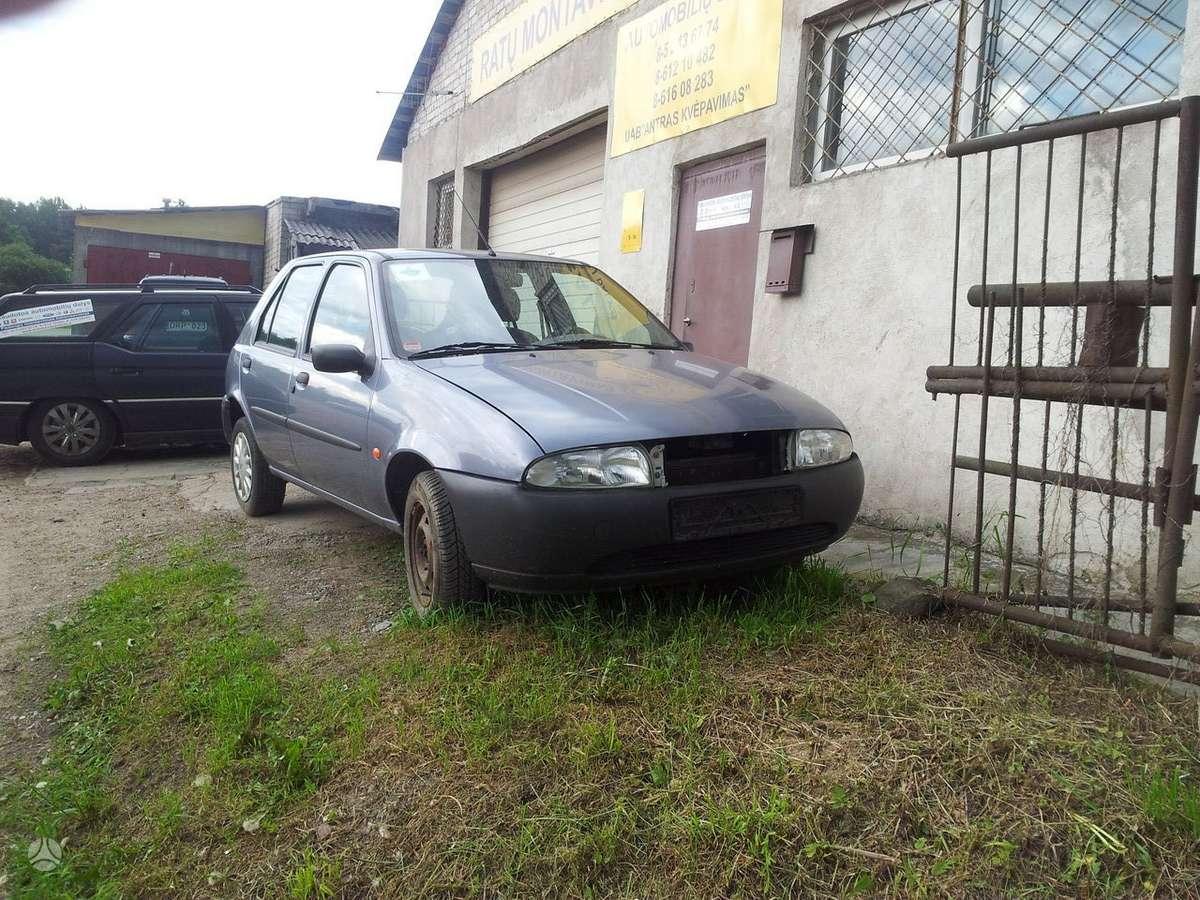 Ford Fiesta. Eišiškių pl. 76b tetel 8 5 2436774 8 699 30626 8