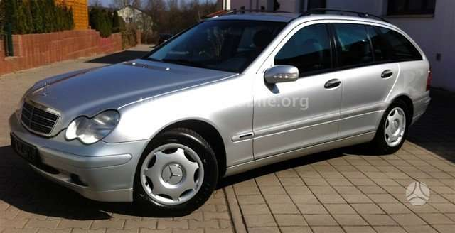 Mercedes-Benz C klasė dalimis. Is vokietijos