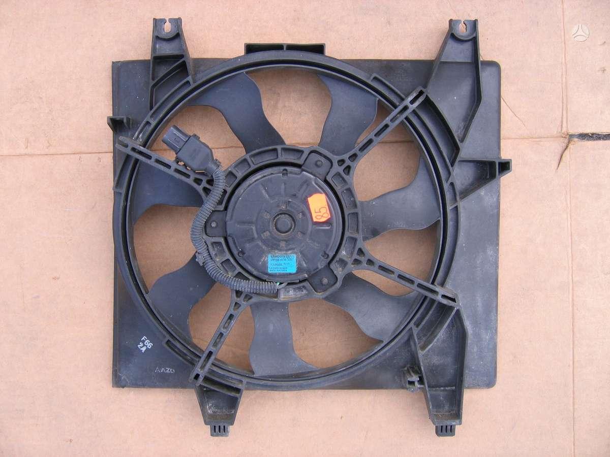 Hyundai Matrix vandens radiatorius, ventiliatorius