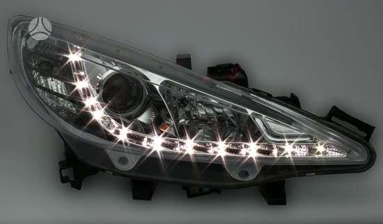 Peugeot 207. Parduodamos naujos tuning dalys.peugeot 207. nuo 06-