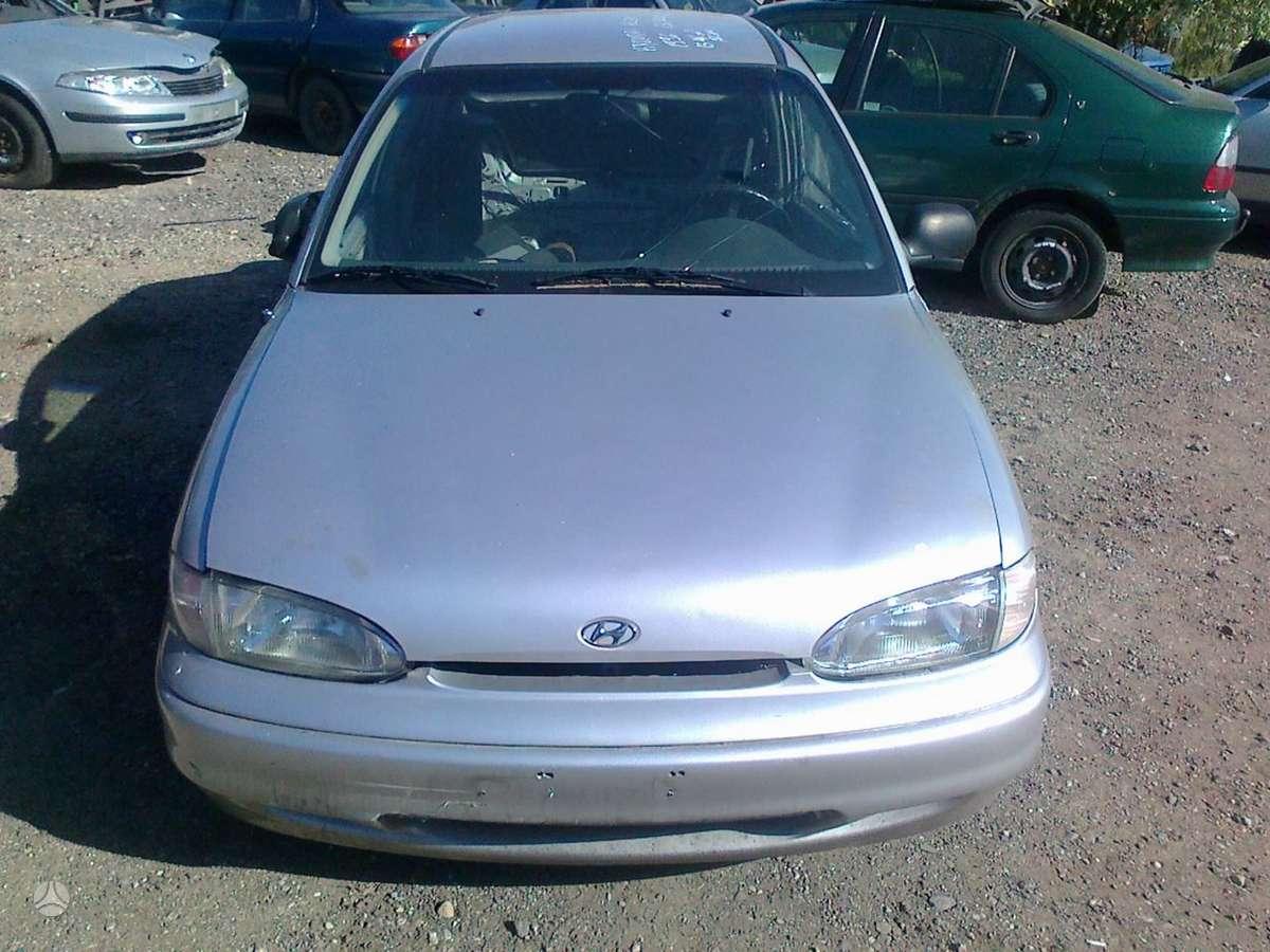 Hyundai Accent dalimis. Dalimis - hyundai accent 1996 1.3l bendz