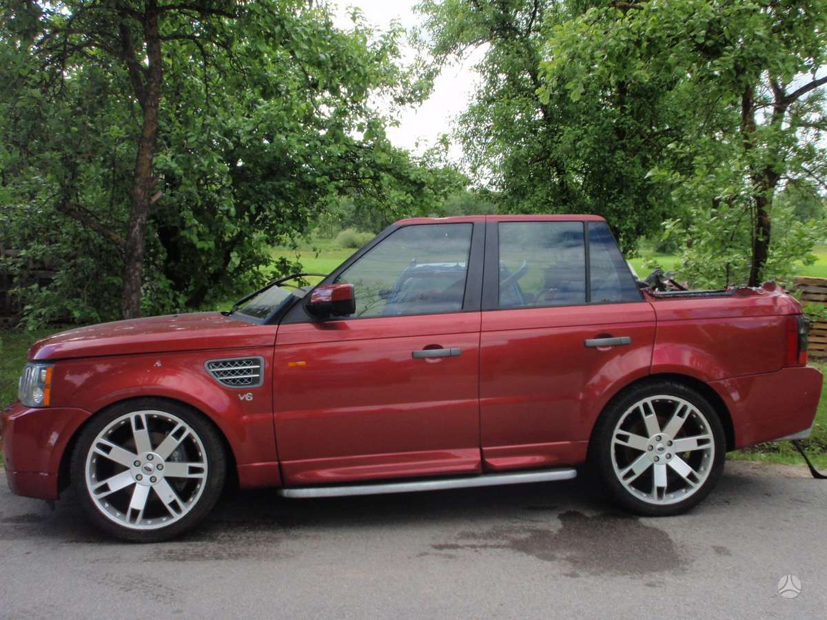 Land Rover Range Rover Sport dalimis. Land rover range rover