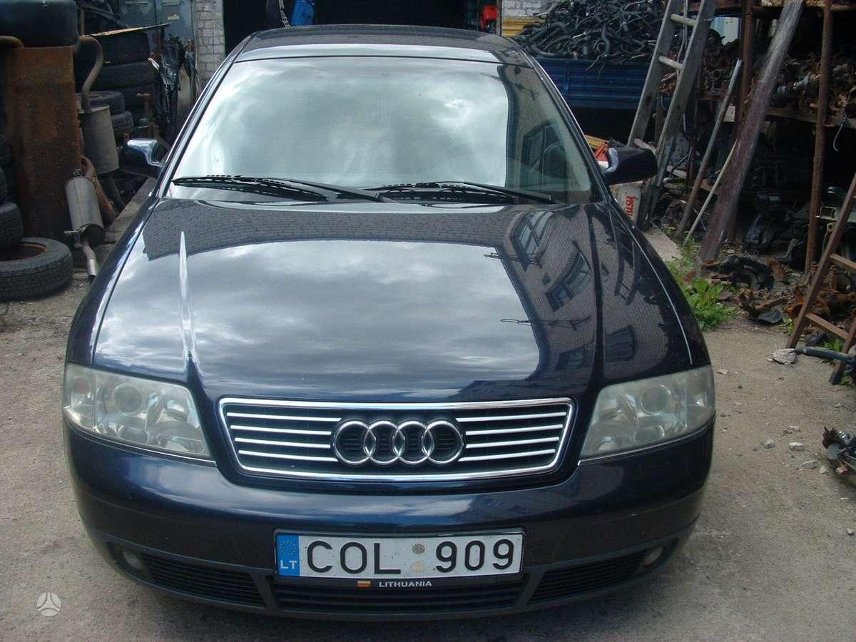 Audi A6. Perkame automoblius ardymui
