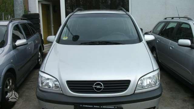 Opel Zafira dalimis. Is vokietijos