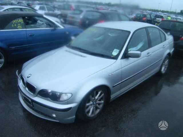 BMW 316. Bmw 316 2004m, 5 pavaros lieti ratai,cd grotuvas ,