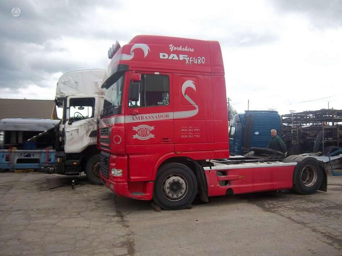 DAF 95 XF, vilkikai