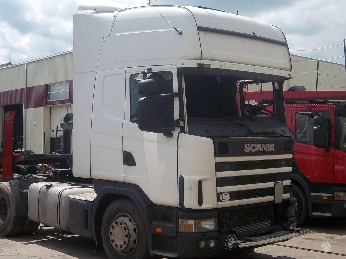 Scania, 420, vilkikai
