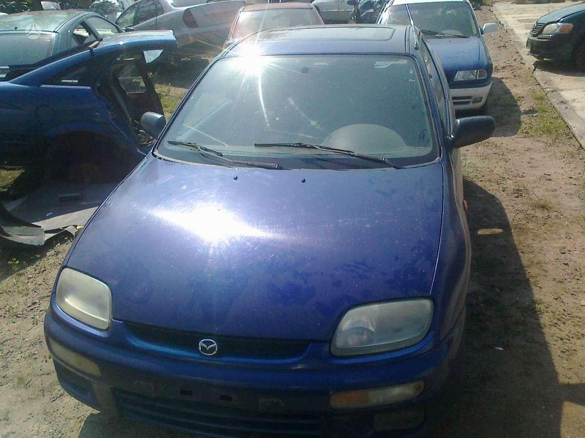 Mazda 323 dalimis. Dalimis - mazda 323 1995 1.3l 1324cm3 54kw