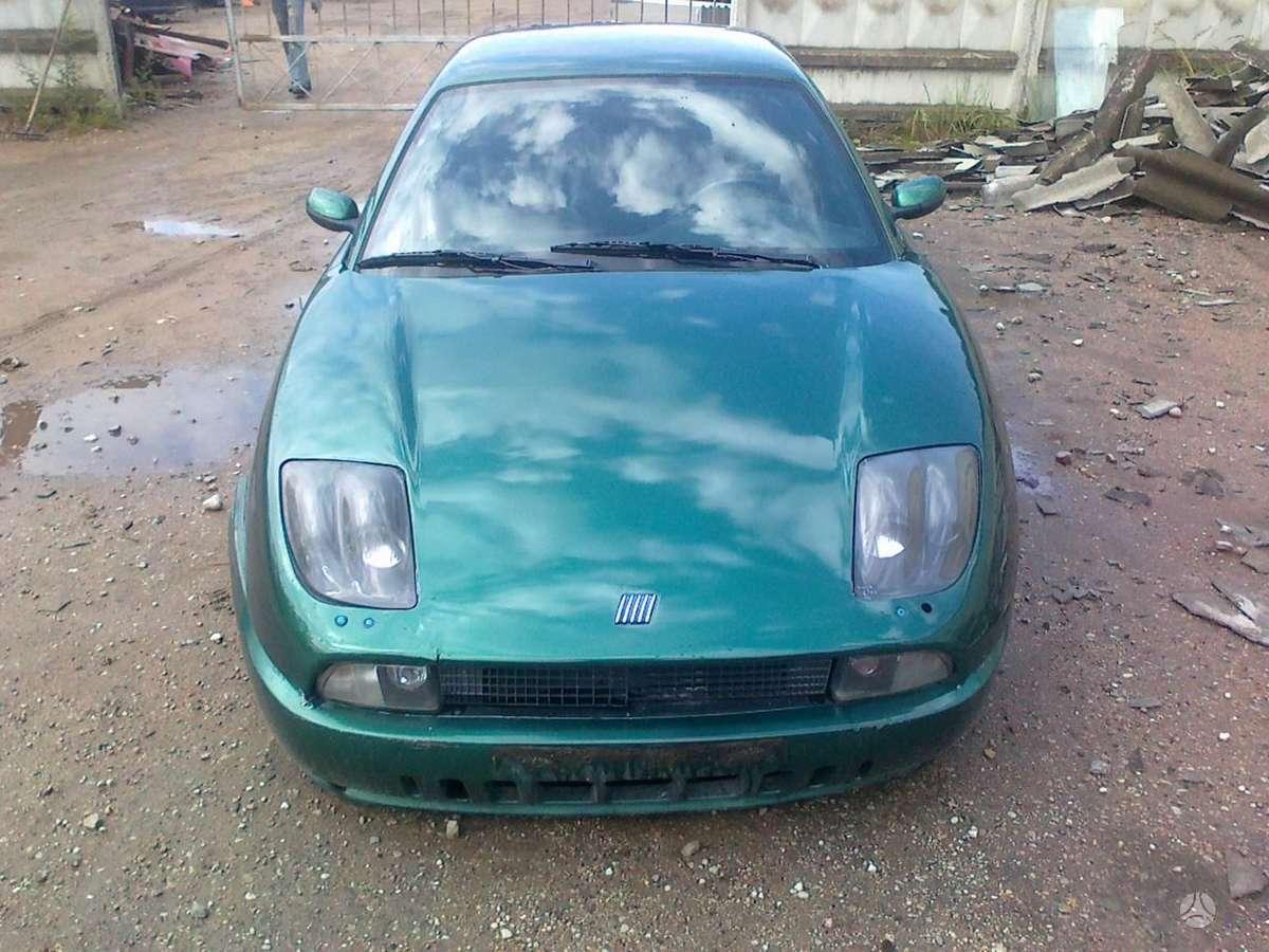 Fiat Coupe dalimis. Dalimis - fiat coupe 1996 2.0l 1995cm3 102kw