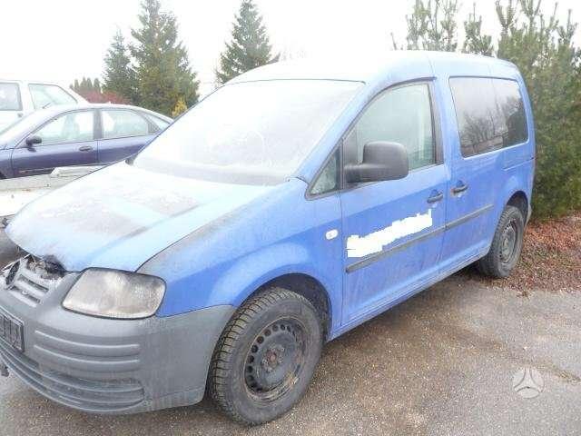 Volkswagen Caddy. Serviso paslaugos (variklių, važiuoklės