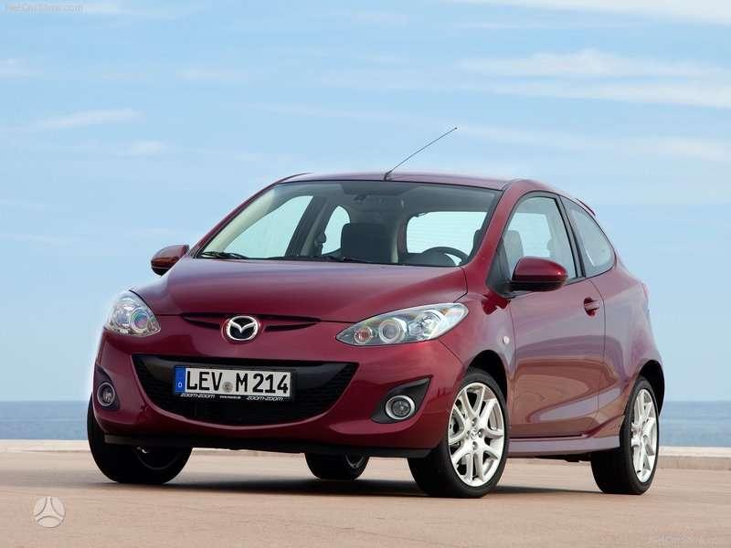 Mazda 2. Naudotos ir naujos japoniškų ir korėjietiškų