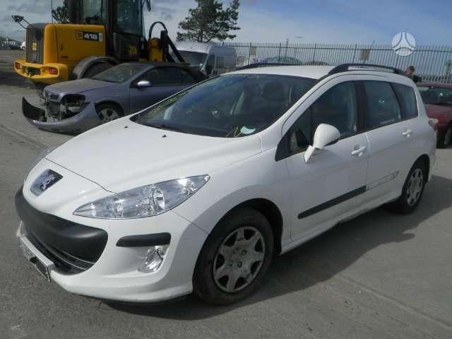Peugeot 308. Pristatome automobilių dalis į namus visoje