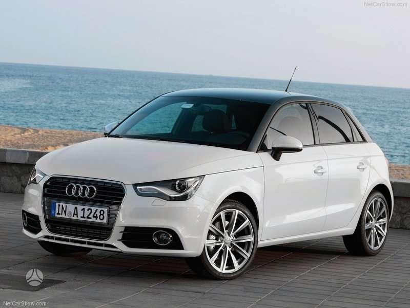 Audi A1. Naudotos autodetales. didelis pasirinkimas. geros