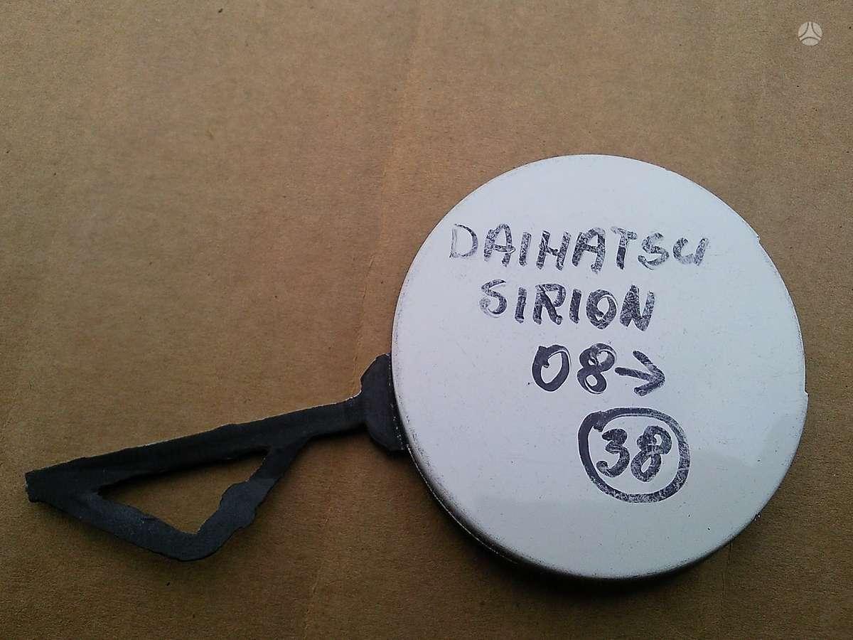 Daihatsu Sirion. žibinto varikliukas dangtelis kablio skylei
