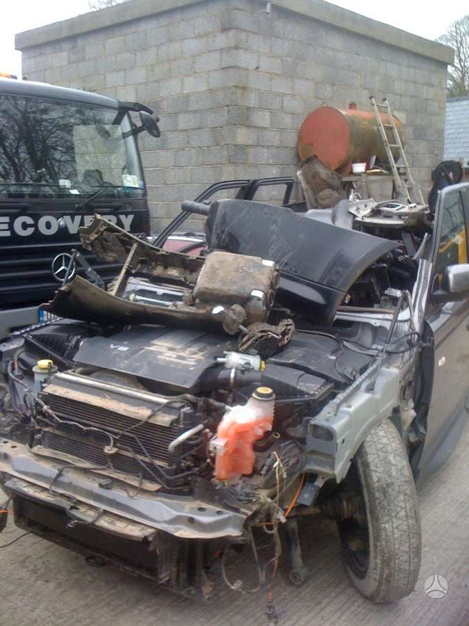 Land Rover Range Rover Sport. 5.0 benzinas dalimis is anglijos