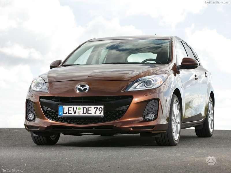 Mazda 3. Naudotos ir naujos japoniškų ir korėjietiškų automobilių