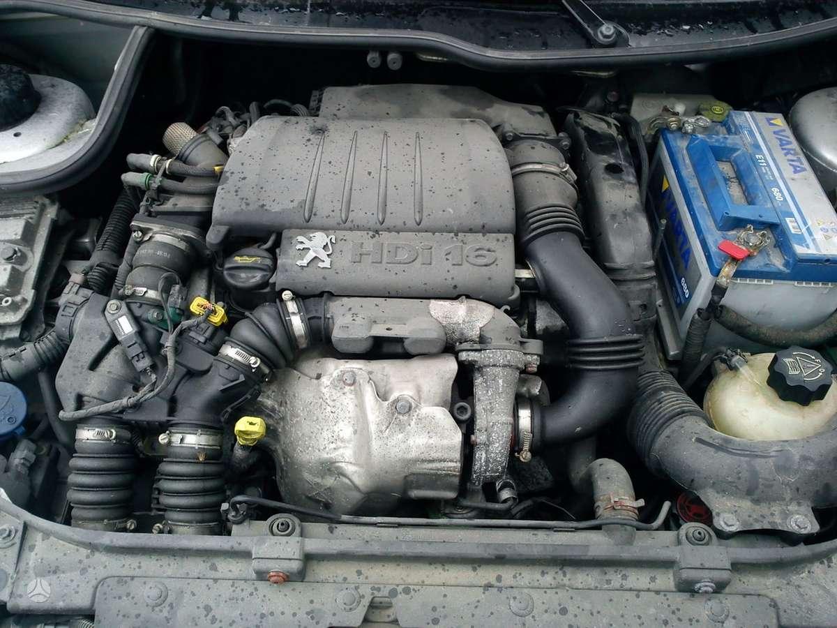 Peugeot 206. 1.6hdi, klimatronikas, esp