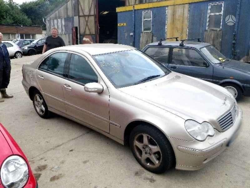 Mercedes-Benz C220. Mb 203 2002m. 2.2 cdi avangardas apdaila,6