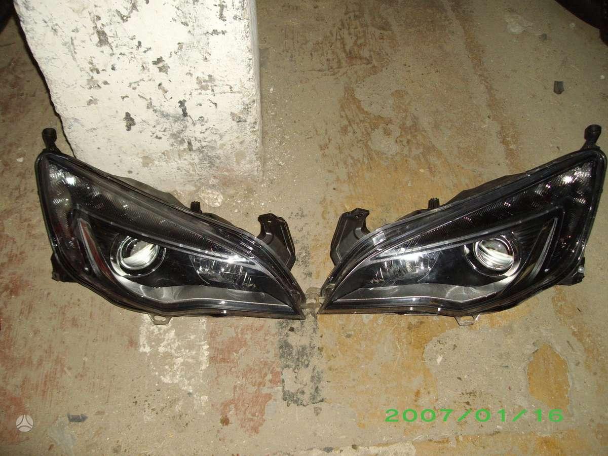Opel Astra. Prekyba auto dalimis naudotomis europietiškiems,