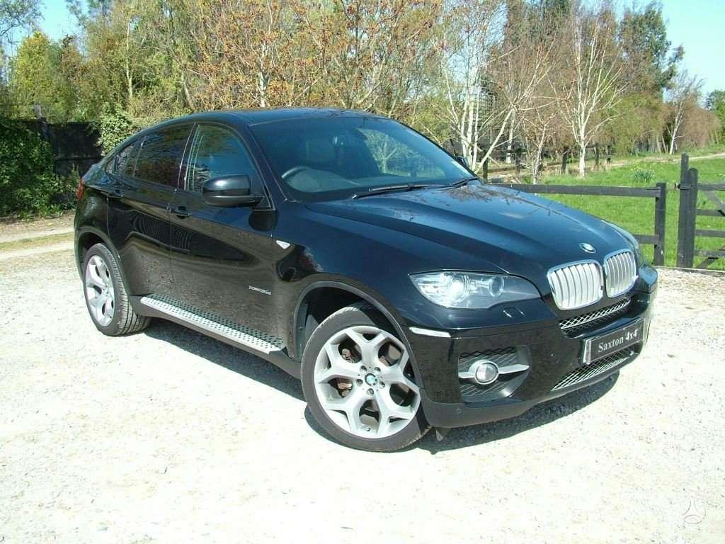 BMW X6. Anglas