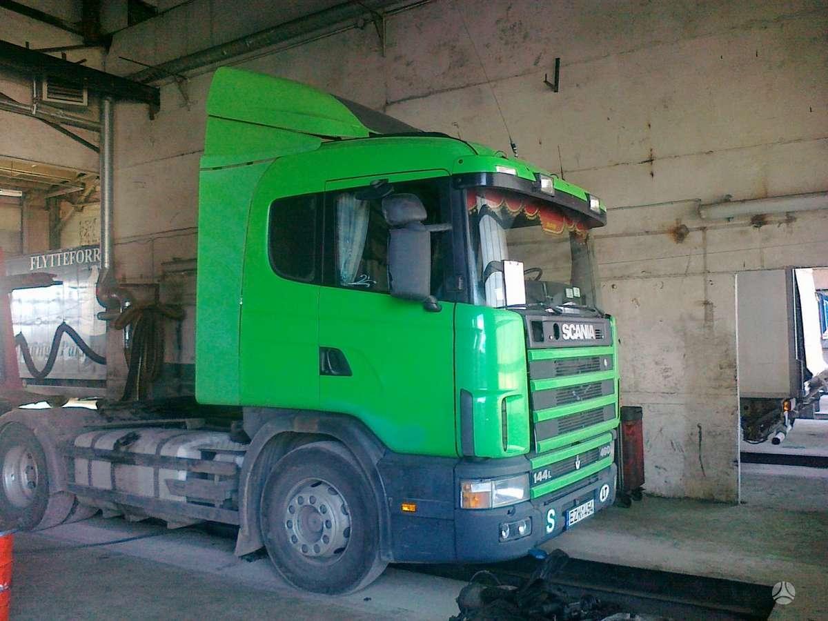 Scania 144, vilkikai