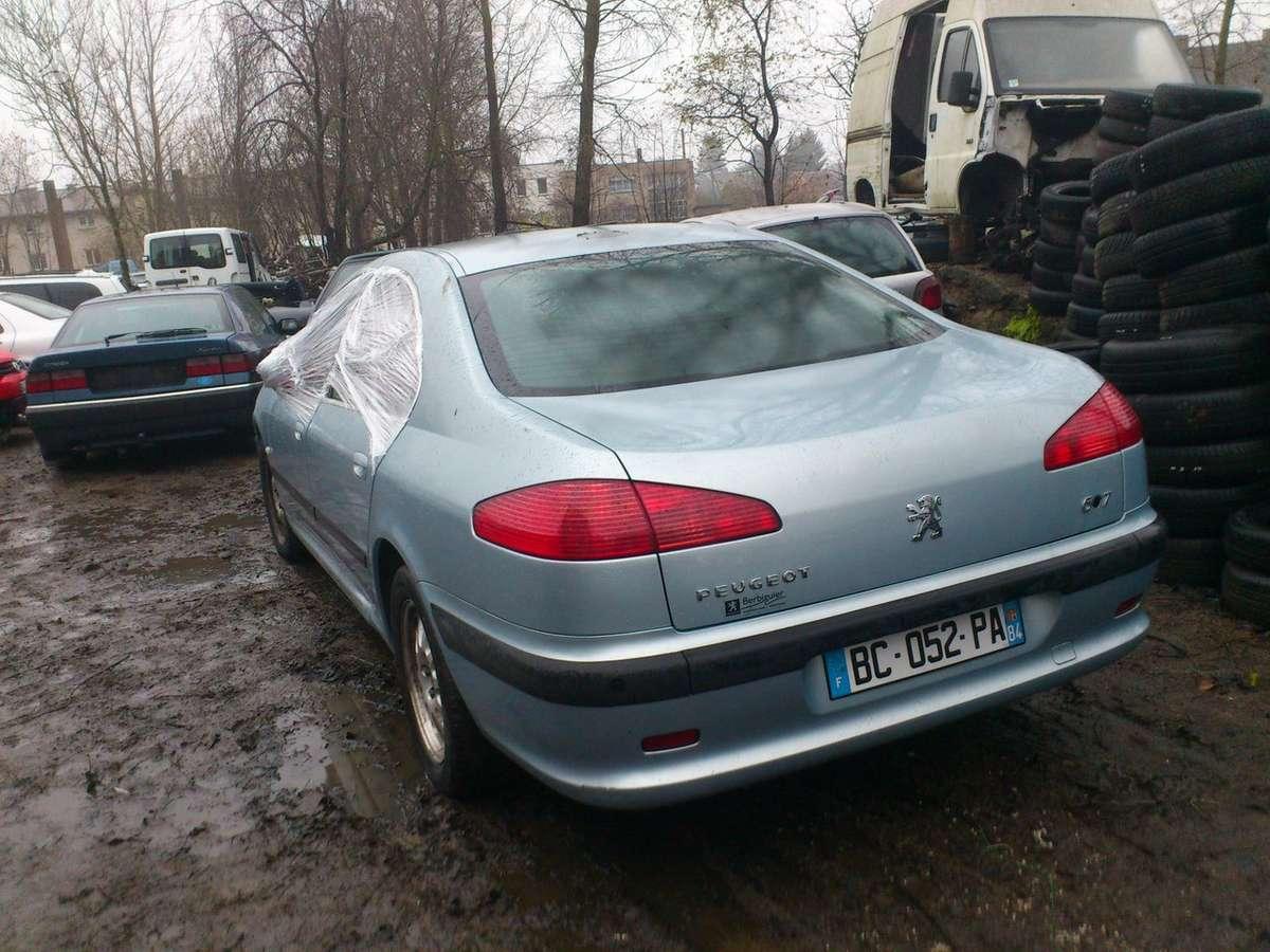 Peugeot 607 dalimis. Iš prancūzijos. esant galimybei,