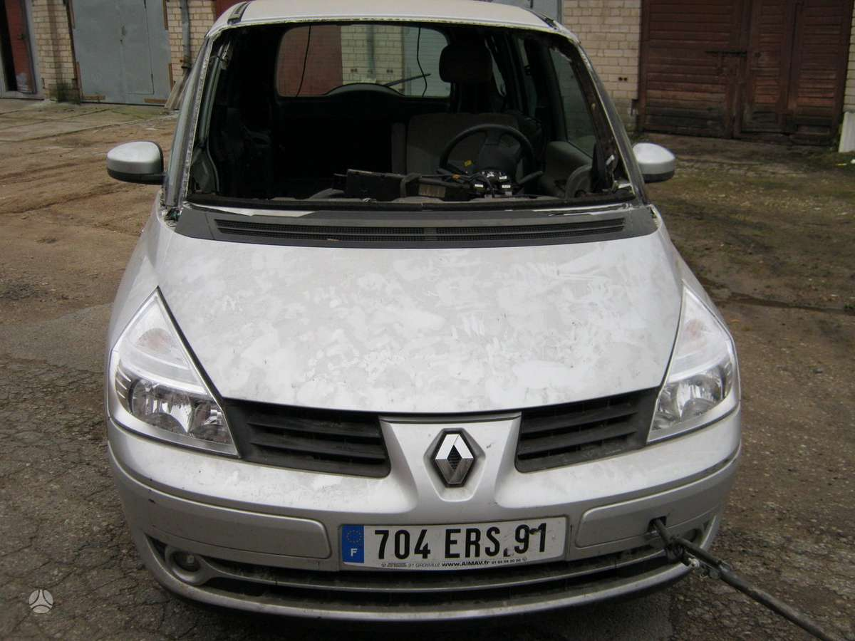 Renault Grand Espace dalimis. Masina is prancuzijos....