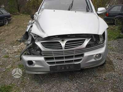 SsangYong Kyron. Variklio nera .motora net autodalys taip pat