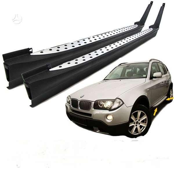 BMW X3. Soniniai slenksciai. .siunciu i kitus miestus.