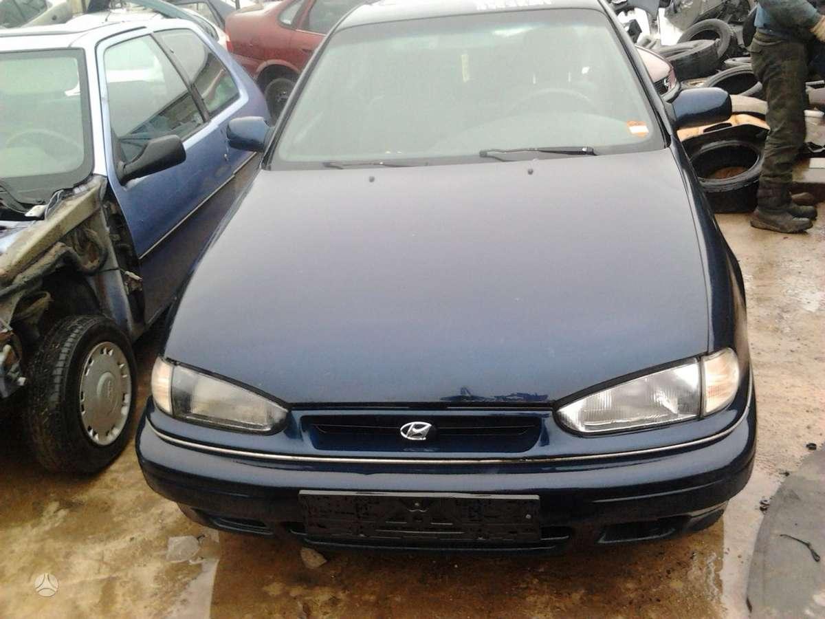 Hyundai Lantra dalimis. Dalimis - hyundai lantra 1995 1.6l
