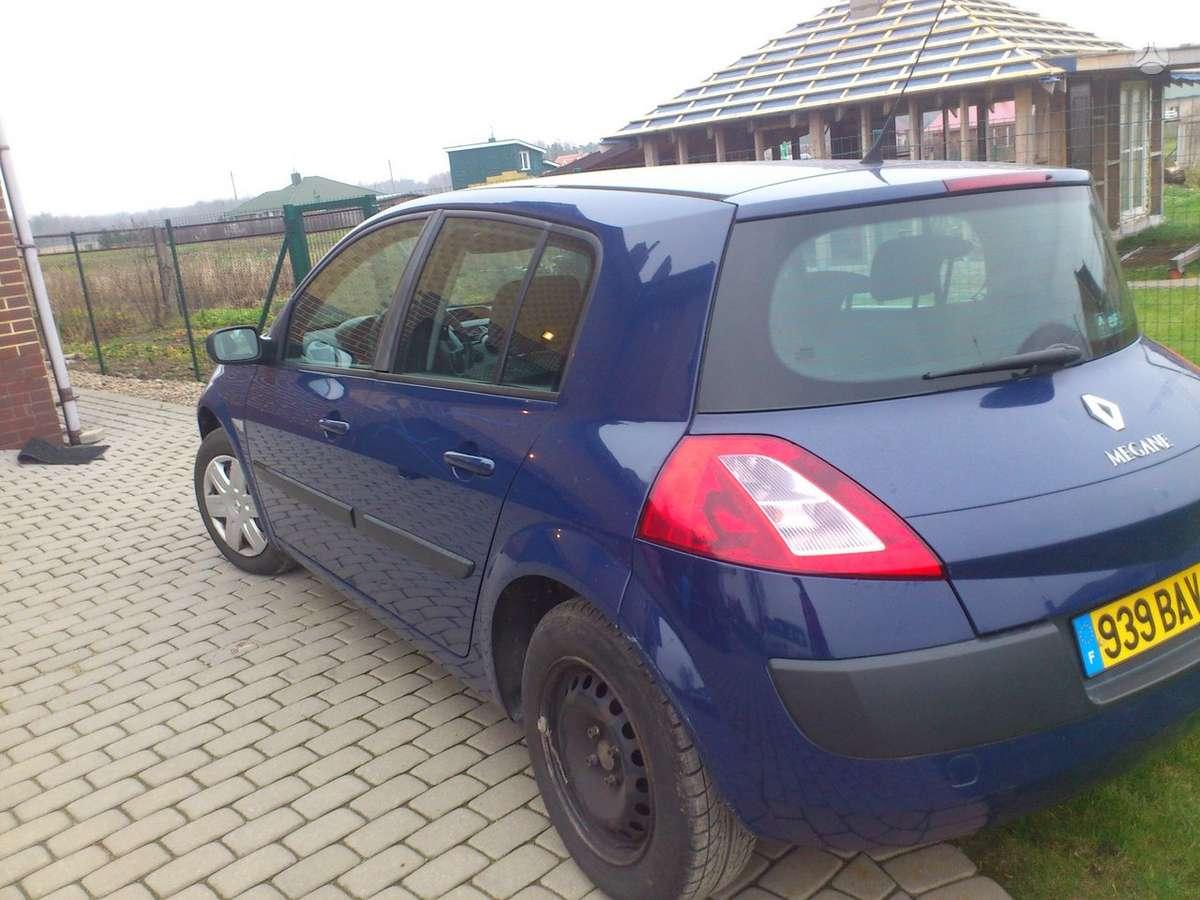 Renault Megane dalimis. Iš prancūzijos. esant galimybei,