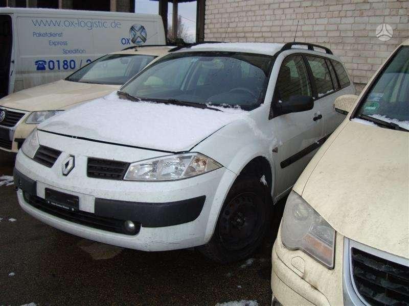 Renault Megane. Turime ir 1,6 benzina