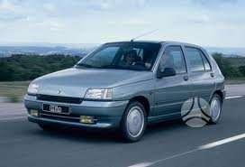 Renault Clio dalimis. 1992-97m 1.2, 1.4, 1.9d