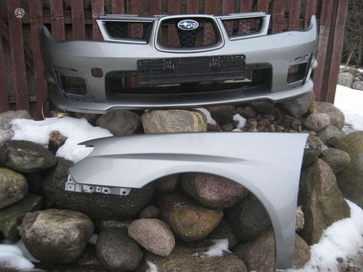 Subaru Impreza. Pr. kapotas  wrx - sti (aliumininis) , pr.