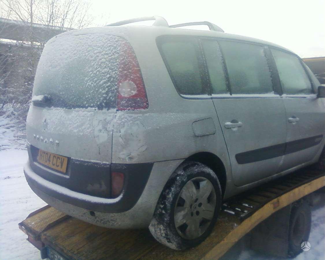 Renault Espace dalimis. 3000cm dci automatas 7sėdynės kablys ,