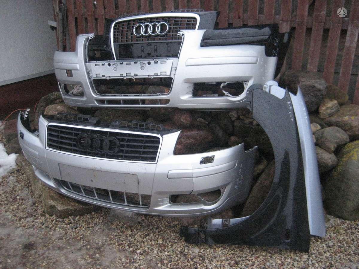 Audi A3. Priekinė panėlė ,pr .buferio balkis ,priekiniai,