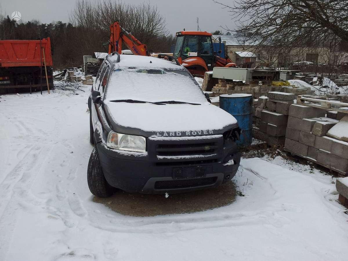 Land Rover Freelander. Europa   rida 134 000 !!!!!! galimas