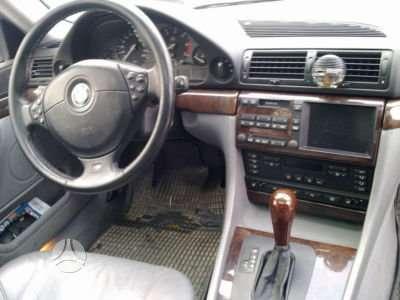 BMW 725. 725tds m vairas tv su visais blokais r17 orginalus