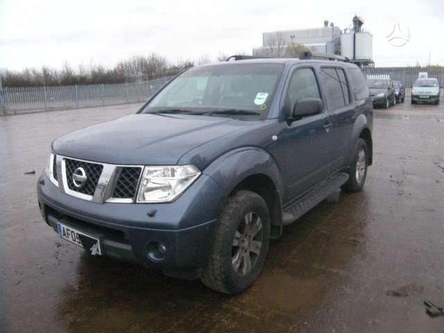 Nissan Pathfinder dalimis. Is anglijos, srs, abs, lieti