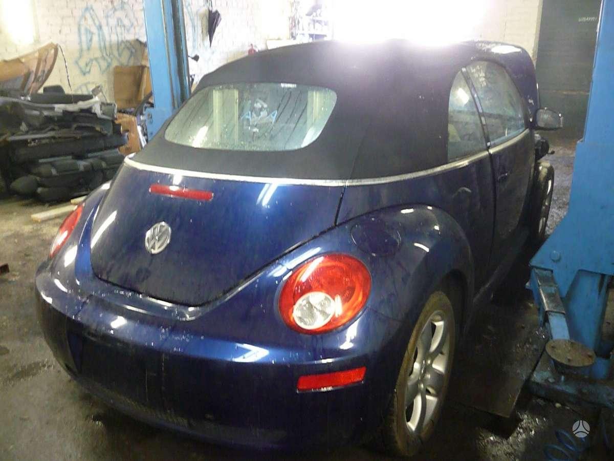 Volkswagen Beetle. Usa. variklis - bps, dėžė - hje.  yra